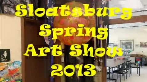 Thumbnail for entry Spring Art Show 2013