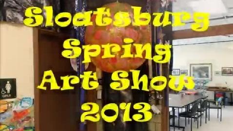 Thumbnail for entry Spring Art Show 2013