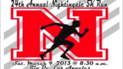 Thumbnail for entry NIGHTINGALE MS 5K RUN 2014
