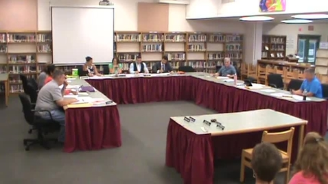 Thumbnail for entry Hackettstown Board of Education Meeting - November 18th, 2015