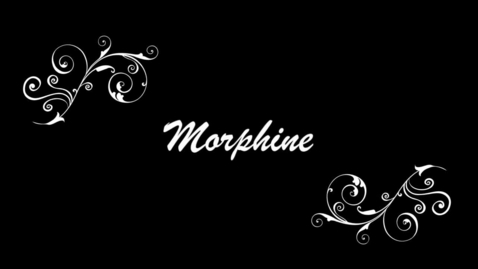 Thumbnail for entry How to Kill a Mockingbird: Morhpine