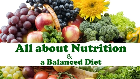 Thumbnail for entry All About NUTRITION | Balanced Diet Chart | Diet plan in quarantine Days | Letstute
