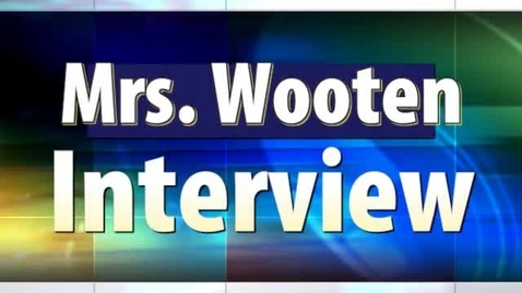 Thumbnail for entry Eagle Egg TV - Mrs. Wooten's Interview