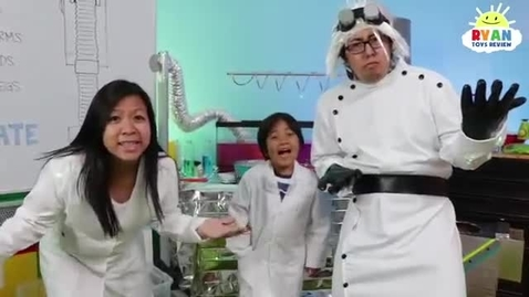 Thumbnail for entry Lets Build A Robot Kids Song  Body Parts Exercise and Dance for Children  Ryan ToysReview