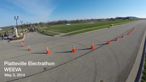 Thumbnail for entry Platteville Electrathon - WEEVA 2014