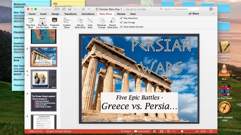 Thumbnail for entry Persian Wars Day 1