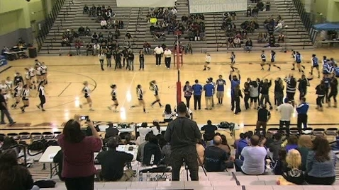Thumbnail for entry GHCHS Girls Volleyball vs El Camino Real Charter HS 11-19-11 CIF Finals