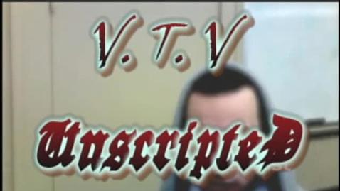 Thumbnail for entry VTV Unscripted