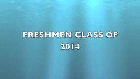 Thumbnail for entry Freshmen Spirit Week Video 2011