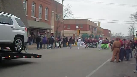 Thumbnail for entry Marching Bulldog Brigade in 2010 Christmas Parade