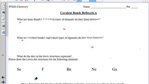 Thumbnail for entry TT Building Covalent molecules