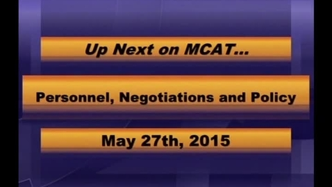 Thumbnail for entry MCPS PNP Meeting May 27, 2015