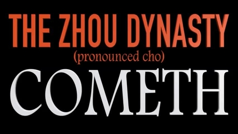 Thumbnail for entry Zhou Dynasty