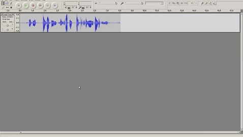 Thumbnail for entry Effects in Audacity