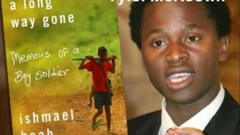 Thumbnail for entry WSOA news: Ishmael Beah's autobiography