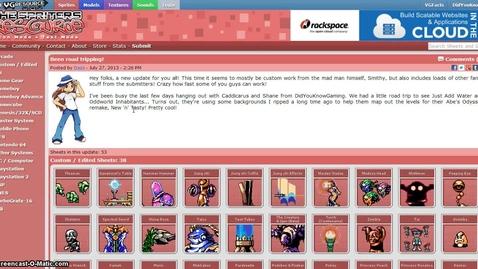 Thumbnail for entry GameMaker Studio - spritesheets