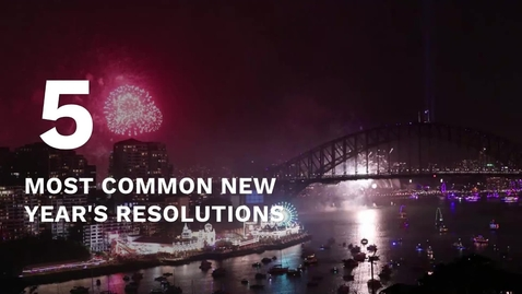 Thumbnail for entry Five most common New Year resolutions
