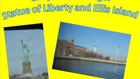 Thumbnail for entry Pontiac FFA Chapter Exchange 2014 - Statue of Liberty, Ellis Island