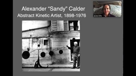Thumbnail for entry Calder Miro Video 2 Calder