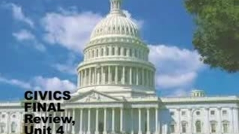 Thumbnail for entry U-46 Civics Final Exam Review 4. Elections