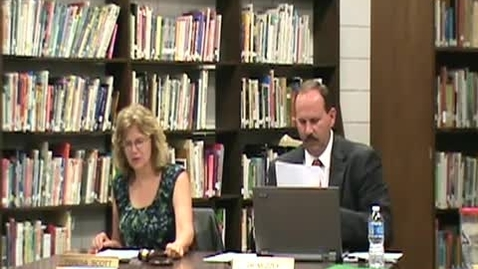 Thumbnail for entry 071212 School Board Meeting