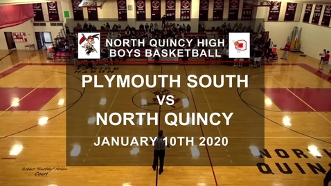 Thumbnail for entry North Quincy Boys Basketball vs Plymouth South Jan 2020