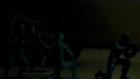 Thumbnail for entry Army Men Stop Motion - By Aaron Richards & Andy Burrell