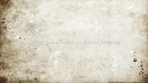 Thumbnail for entry Crossings Christian School Spring Music Program