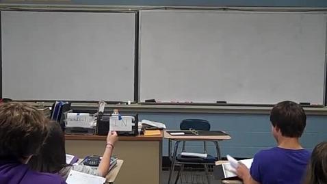 Thumbnail for entry Academic Algebra I 9-28-11