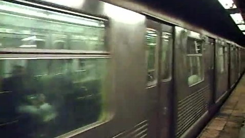 Thumbnail for entry J train at Canal Street