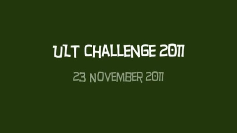Thumbnail for entry ULT Challenge 2011