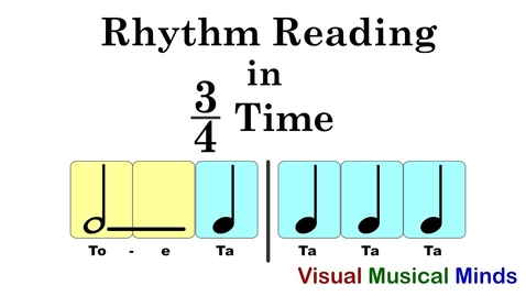 Thumbnail for entry Rhythm Reading in 3/4 Time