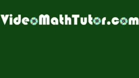 Thumbnail for entry Basic Math: Lesson 1 - Numbers