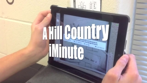 Thumbnail for entry A Hill Country iMinute