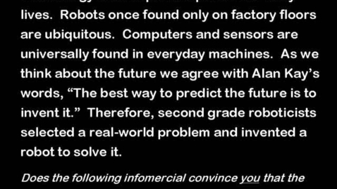 Thumbnail for entry Robot Infomercials
