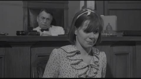 Thumbnail for entry To Kill A Mockingbird(1962) - The Trial Scene(Mayella Ewell's testimony) - Quiz