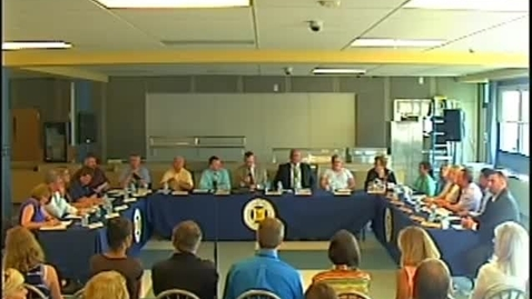 Thumbnail for entry Wayne Central Board of Education Meeting 6/26/14
