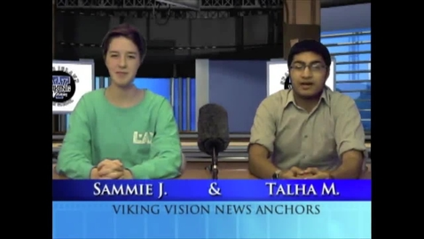 Thumbnail for entry Viking Vision News Thurs 11-13-2014
