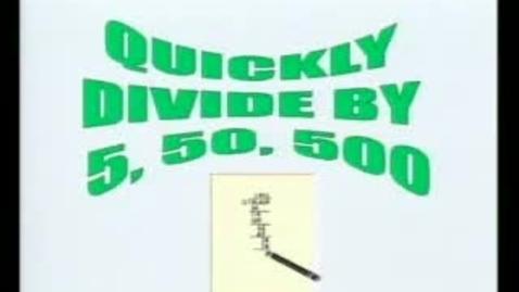 Thumbnail for entry EZ Math Trix - Division