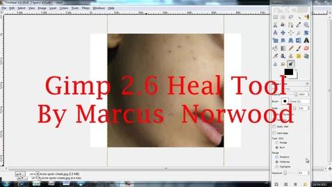 Thumbnail for entry Gimp Heal Tool