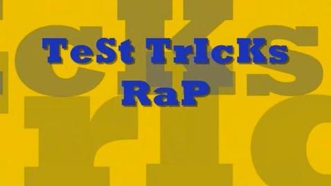Thumbnail for entry Test Taking Tricks