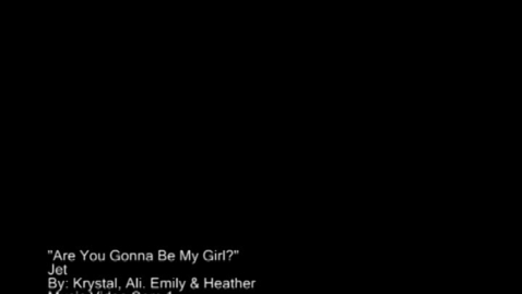 Thumbnail for entry Are You Gonna Be My Girl - WSCN (2011/2012)