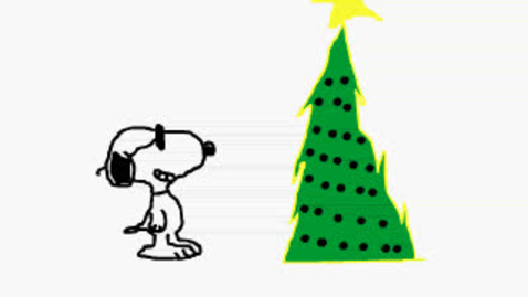 Thumbnail for entry Snoopy Christmas Flash Animation