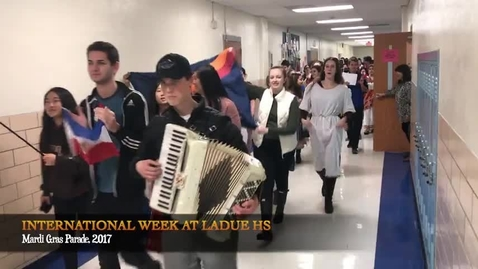 Thumbnail for entry International Week at Ladue High School, 2017