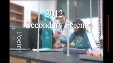 Thumbnail for entry 2012 Secondary Science Teacher of the Year, Jeremy Resmann