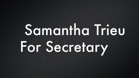 Thumbnail for entry Key Club Secretary Speech