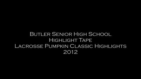 Thumbnail for entry Butler Lacrosse Highlights