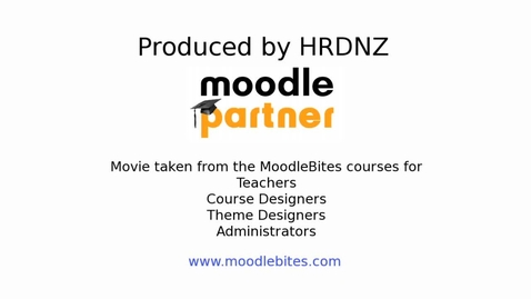 Thumbnail for entry Moodle  Databases Part 2