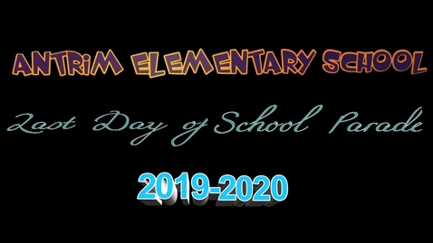 Thumbnail for entry AES End of School Year Parade