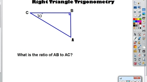 Thumbnail for entry Right Triangle Trig